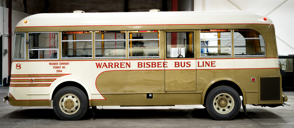 Warren-Bisbee Bus NRHP Nomination