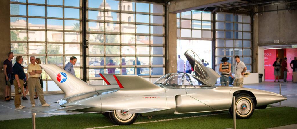 Firebird III, on display Tucson Modernism Week 2015   photo by Jude Ignacio and Gerardine Vargas